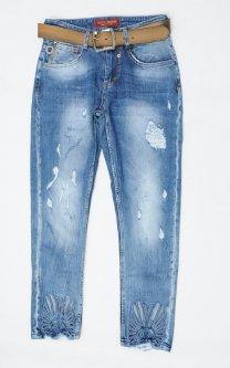 Джинси жіночі WOOX Boyfriend W25 Синій Арт 5051
