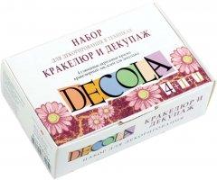 Набор для декорирования Невская палитра Decola в техниках кракелюр и декупаж (4640000671150)