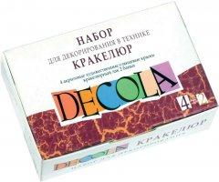 Набор для декорирования Невская палитра Decola в технике кракелюр (4640000671143)