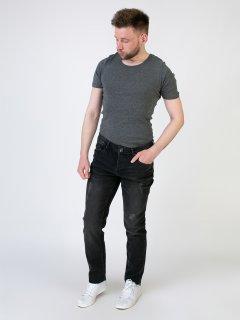 Чоловічі джинси LIVERGY 54 темно сірий F01-230076