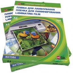 Пленка для ламинации DA Матовая А4 216 х 303 мм 80 мкм (1120102120700)