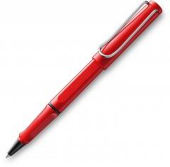 Ручка-роллер Lamy Safari Красная/Стержень M63 1 мм Синий (4014519282624)