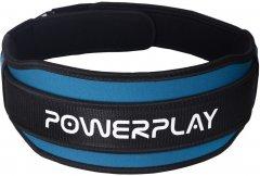 Пояс для тяжелой атлетики PowerPlay 5545 Синий L (PP_5545_L_Blue)