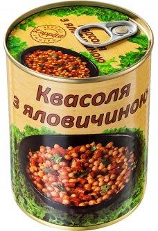 Фасоль с говядиной L'appetit 350 г (4820177070196)