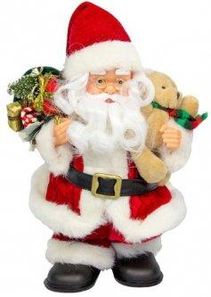 Фигурка Дед Мороз mag-2000 музыкальный 25 см Красный (230396) (5102681230396)