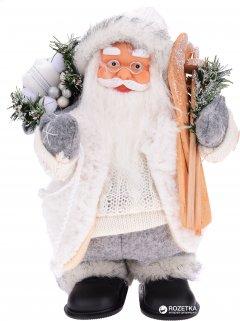 Фигурка Дед Мороз mag-2000 музыкальный 25 см Белый (230402) (5102681230402)