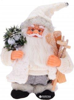 Фигурка Дед Мороз mag-2000 музыкальный 18 см Белый (230372) (5102681230372)