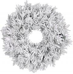 Венок декоративный искусственный Black Box Dinsmore Frosted 60 см (8718861289039)