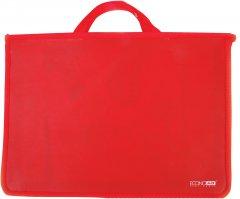 Портфель пластиковый Economix А4 на молнии 2 отделения Красный (E31630-03)