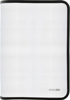 Папка-пенал пластиковая Economix на молнии А4 Черный (E31644-01)