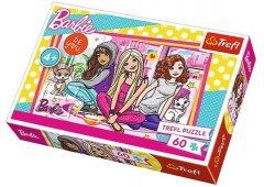 "Пазлы - (60 Элм.) ""Барби и друзья"" / Барби (17295)"