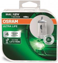 Автолампы Osram Ultra Life H4 (64193ULT-HCB)