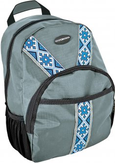 Ранец дошкольный Cool For School Vyshyvanka Classic Gray 306 29 х 20 х 10 см 5.8 л унисекс (CF85649) (4044572856494)