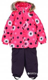 Зимний комплект (куртка + полукомбинезон) Lenne Miia 18313/2600 74 см Малиновый (4741578225087)