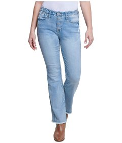 Джинси Seven7 Jeans High-Rise Flip-Flop Flare Jeans in Blue Skies Blue Skies, XL (48) (10912228)