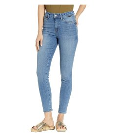 Джинси Mavi Jeans Alissa High-Rise Super Skinny Ankle in Light Brushed Supersoft Light Brushed Supersoft, 31W 32L (10912225)
