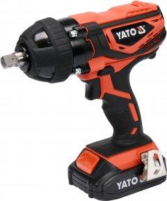 Гайковерт ударный аккумуляторный YATO YT-82804