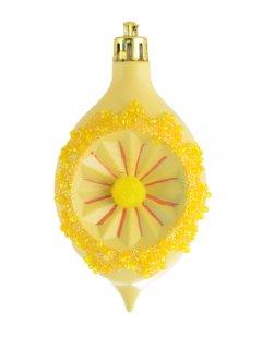 Елочная игрушка Новогодько (YES! Fun) Лимон 6х9.5 см Желтая (972826) (5056137109159)