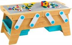 Деревянный игровой стол для конструкторов KidKraft Building Bricks (17512) (706943175125)