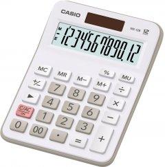 Калькулятор Casio 12 разрядный 106х147х29 Белый (MX-12B-WE)