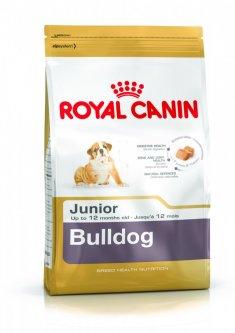 Корм для щенков породы английский бульдог Royal Canin Bulldog 30 Junior 3 кг (3967030)