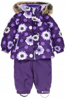 Зимний комплект (куртка + полукомбинезон) Lenne Miia 18313/6189 74 см Темно-фиолетовый (4741578225032)