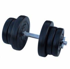 Гантель RN-Sport композитная 11.5 кг с хром грифом