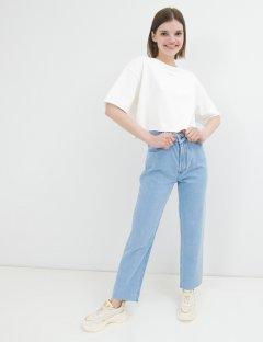 Джинсы WhyNotDenim Straight Jeans голубые W26 (jstr4-26)