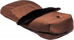 Теплый конверт/накидка на ножки Moon Panama Chocolate (68000043-805)