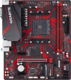 Материнская плата Gigabyte B450M Gaming (sAM4, AMD B450, PCI-Ex16)