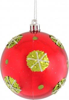 Елочный шар Новогодько (YES! Fun) Роджерси 8 см Разноцветный (973100) (5056137141616)