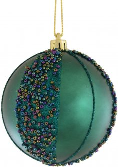 Елочный шар Новогодько (YES! Fun) Исида 8 см Разноцветный (973134) (5056137141777)