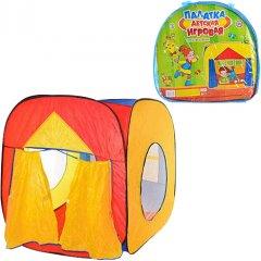 Детская палатка Bambi M 0507 Домик Желто-красная (111085)