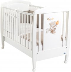 Детская кроватка CAM Orso с выдвижным ящиком Белая (G210) (8005549050297)