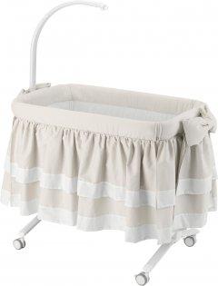 Приставная кроватка CAM Cullami Luxe с постелью Бежевая (925/926/T150) (8005549926080)