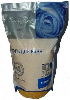 Соль для ванн Сириус Бальзамир Ромашка 1000 г (4620002620202/4620002620172)