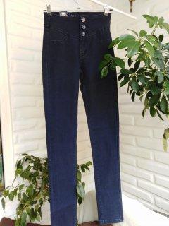 Жіночі джинси Moon girl ceusul 26 темно-синій 06-05