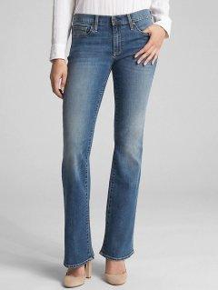 Женские джинсы GAP Stretch Perfect boot Размер 26 Regular Индиго 3509950012702