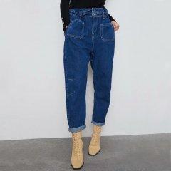 Джинси жіночі з еластичною талією Lake Berni Fashion (S) Синій (55837)