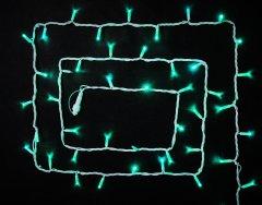 Светодиодная гирлянда DELUX STRING flash 100LED 10 м зеленый/белый IP44 EN ( 90012969)