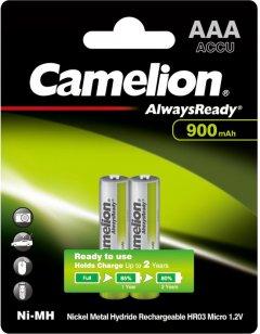 Аккумулятор Camelion Always Ready R 03/2bl AAA 900 мАч Ni-MH (NH-AAA900АRBP2)