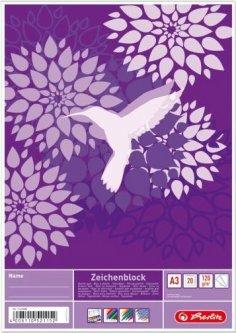 Альбом для рисования Herlitz A3 20 листов Calibri (11415882C)