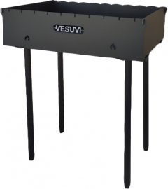 Мангал Vesuvi Scout 3 мм на 10 шампуров (MVSCOUT-3)