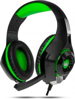 Наушники Crown CMGH-101T Green