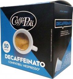 Кофе в капсулах Caffe Poli Decaffeinato 5.2 г х 50 шт (8019650003547)