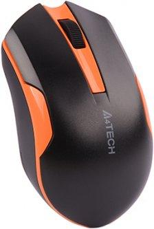 Мышь A4Tech G3-200N Wireless Black/Orange (4711421902212)