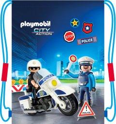 Сумка для обуви Playmobil PL-12 Boy - Policeman (507020047)