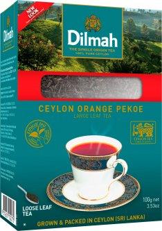 Чай Dilmah Черный Крупнолистовой 100 г (9312631122275)