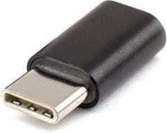 Переходник Atcom Micro USB - USB Type-C Black (8101)