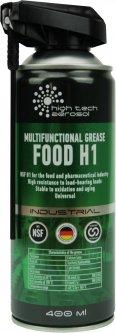 Многоцелевая смазка с пищевым допуском High Tech Aerosol НТА FOOD H1 SPRAY INDUSTRIAL 400 мл (5011)